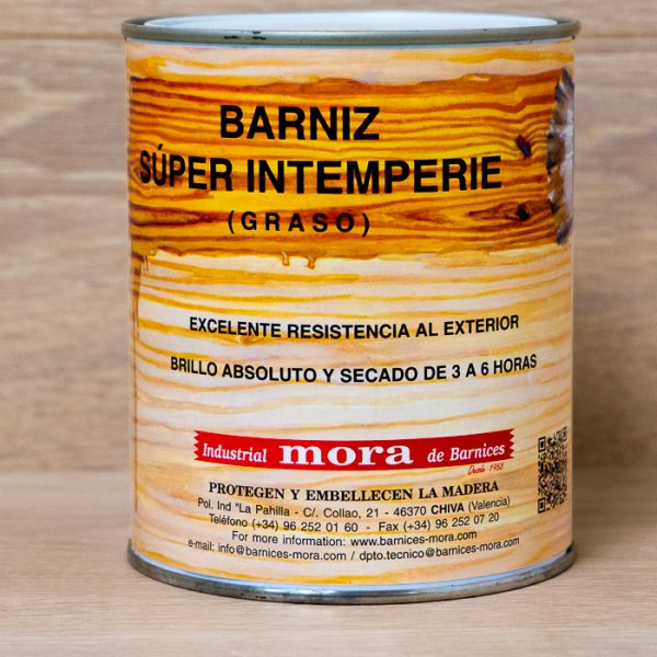 barniz para madera super intemperie barnices mora