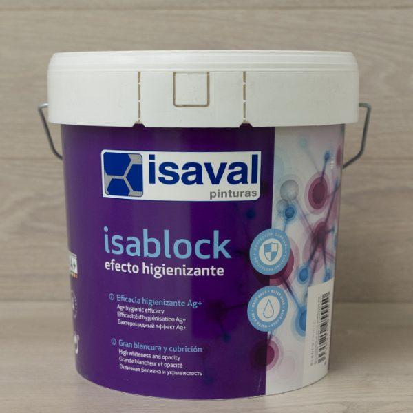 pintura efecto higienizante isablock