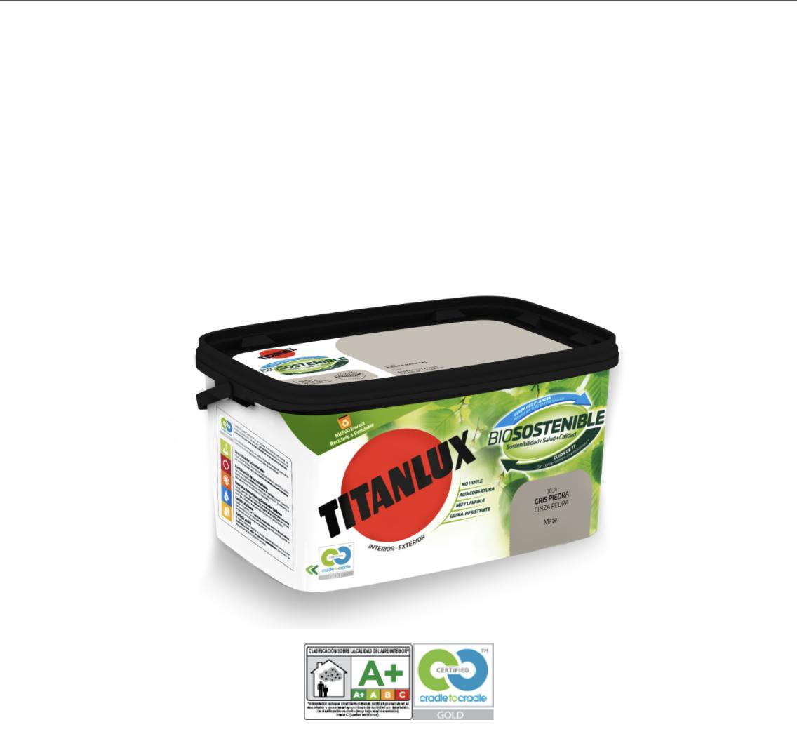Pintura Titanlux Biosostenible para Interior